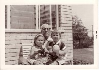 John (Jack) Andronicus with granddaughters Karen and Nicole