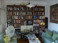 The library of Damian N Andronicus. Still large, despite significant donations to the Library on Kythera