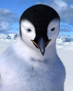 Happy Feet. Filmography. - Miller George A CG penguin from Happy Feet