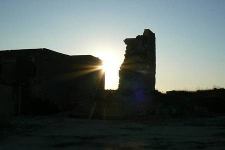 Sunset at the Fort