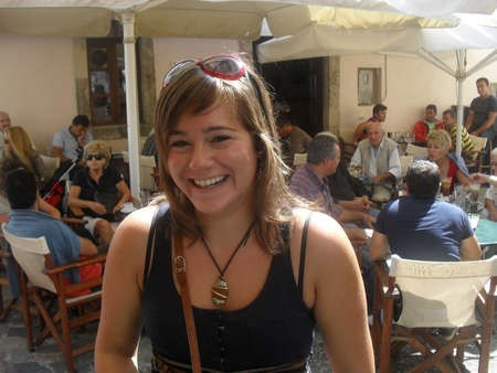 My youngest daughter Maria Constandinou, affectionately called Maritina