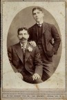 Diamantis Chlentzos and brother-in-law John Alfieris in Oakland, California on 28 April, 1907