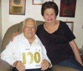 Nicholas and Nina Careedy (Karydis) - celebrating 100 years