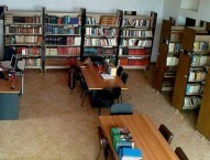The main room in the Kytherian Muncipal Library