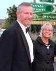 Mark Coulton, the Federal Member for Parkes with wife Robyn