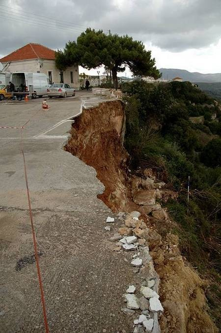Earthquake of 8.1.2006 – Mitata, the next day