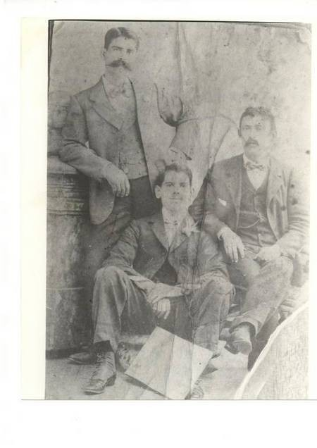 Theodoros Giorgos Andronicos and friends, Sydney April 1901