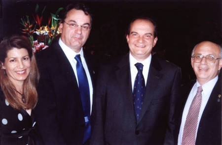 Kytherian Association of Australia. Sydney. - Greek PM with Kytherian Committee 2007 2
