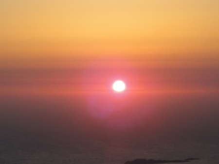 Sunset view from Agia Elessa