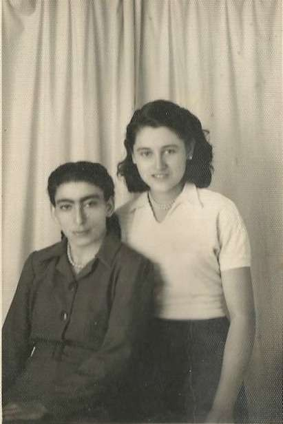 Friends of Anezina Moulos (Malos) 1948-1950