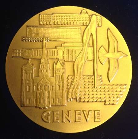 The International Exhibition of Inventions in Geneva in full swing - medal 9