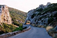 On the road to Panagia Myrtidiotissa