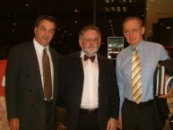 The Honourable Bob Carr, Peter Prineas & George Poulos.