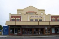Saraton Theatre, Grafton. NSW. Frontage. May, 2006.