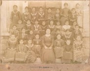 Mama at school early 20th century