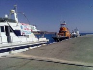 The Freedom Flotilla's Juliano in Agia Pelagia