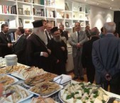 After the formal speeches, His Eminence and the other guests and members were able to mingle amongst the crowd and even renew some old acquaintances