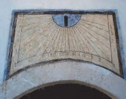The House with the Sundial. The Sundial restored