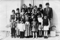 Mitata School Photo from the 1970s