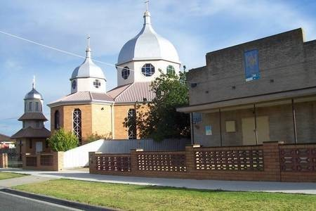 Eastern Orthodox church & Community centre, within the city of Geelong, relatively close to the Monastery at Geelong. - 100_1275