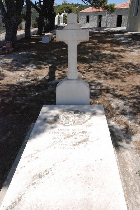 ZANTIOTIS G.S. AND G BONOS-----CEMETERY PANAGIA DESPINA