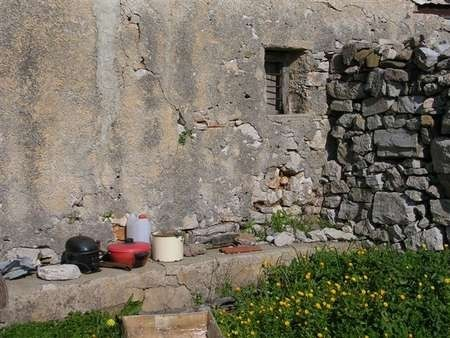 House Wall by Wilma Allex