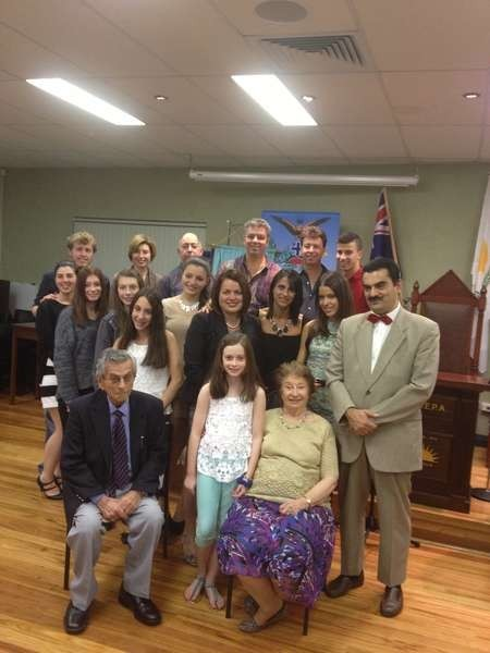 Members of the extended family of Jim Saltis & Tina Andrews