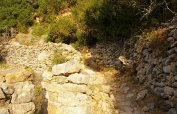 Path to the watermills