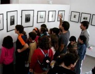 Exhibition of historical photographs