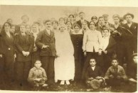 The wedding of Anastasios (Ernest) and Spiridoula (Lily) Combes/Coombes