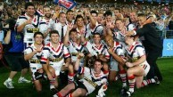In 2002 the Roosters Rugby League Football club won the premiership.