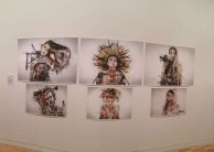 Alexia Psaltis' artwork Subsumed, on display at the Art Gallery of NSW