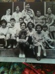 Great-grandmother Sophia Kontoleon with her four children and other Greek friends in St. Louis, Missouri