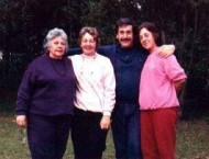 Peter Sophios and his sisters, Elaine, Diane and Barbara