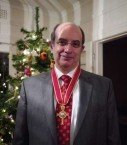Professor Minas Coroneo was awarded the Gold Cross of St Andrew