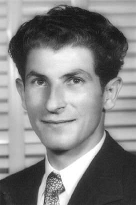 A young Peter Venardos, who took over the Acropolis Cafe in partnership with Theo Souris in 1945.