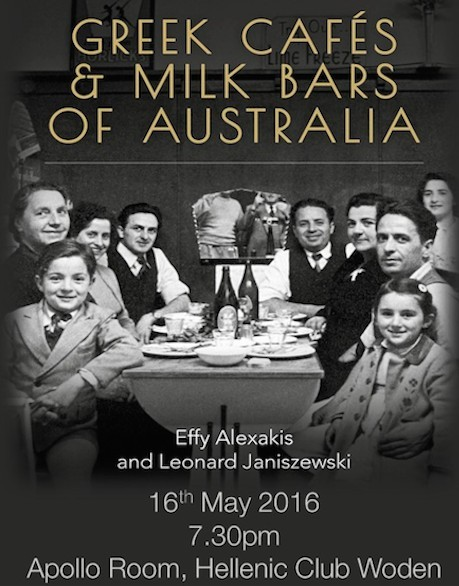 Lecture and Book Launch at Hellenic Club Woden, Canberra