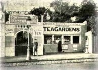 Cremorne Tea Gardens set up by Theodore Politis in the Melbourne suburb of St Kilda in 1916.