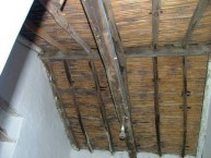 Bamboo ceiling, and mortar and tile contruction for rooves - Karavas, Kythera.