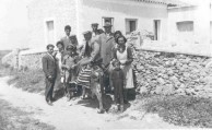 Uncle Peter D. Gavrilis with relatives