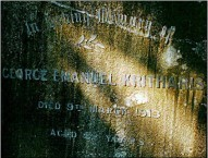 The burial ground of  Emmanuel Kritharis has stayed undisturbed in Woronora General Cemetery.