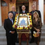 Members of the Committee of the Kytherian Association of Australia at the Ayios Theothoros celebrations