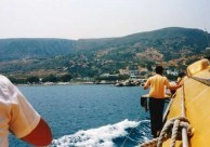Heading to Kythera August 1986