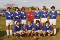 The first Albury City Soccer Club of 1974