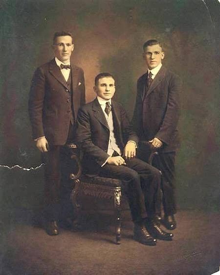 3 Gavriles brothers 1920's