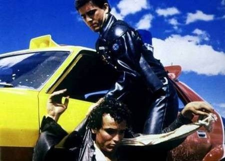 George Miller, Film Producer. Scene from Mad Max 1.