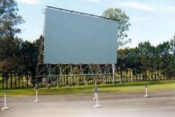 Souris's Beenleigh, Queensland, Drive-In Cinema. Now called the Yatala drive-in.