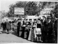 Celebrating the opening of the Hospital in Potamos in 1956