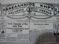 Greek Community of New South Wales 1927