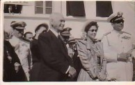 King Paul, Queen Friderika and Late Dr. Stais 1948
